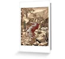 The Last Tiger Greeting Card