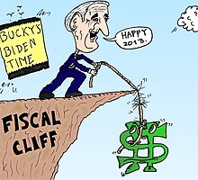Joe Biden rescues Bucky at the Fiscal Cliff by Binary-Options