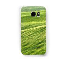 Field of Greens-Siena, Italy Samsung Galaxy Case/Skin