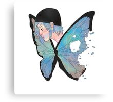 Chloe Price Butterfly Canvas Print