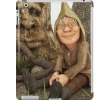 The Gnome and The Forever Sleeping Tree iPad Case/Skin