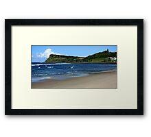 Seven Mile Beach - Lennox Head NSW Framed Print