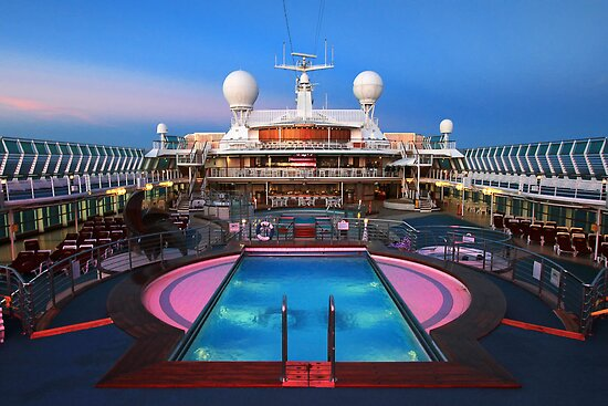 The Pool - Dawn Princess by Hans Kawitzki