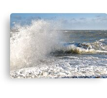 Stormy weather.... Canvas Print