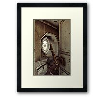 The Old Shabby Room Framed Print