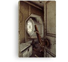 The Old Shabby Room Canvas Print