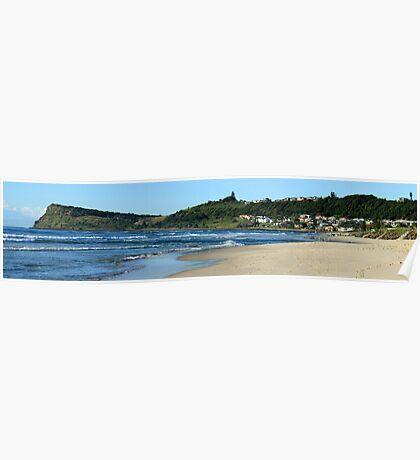 Seven Mile beach - Lennox Head NSW Poster
