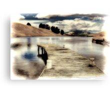 Delta Lake Canvas Print