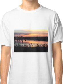 Sunset on Struble Lake Classic T-Shirt