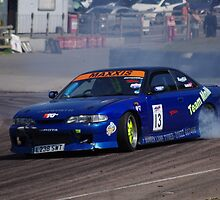 British Drift Championship - Tim Lockyer - Nissan 200 SX Cosworth by motapics