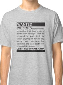 Minions Wanted Classic T-Shirt