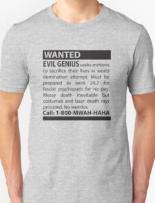 Minions Wanted T-Shirt
