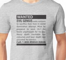 Minions Wanted Unisex T-Shirt