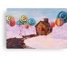 Candy World Revisited Canvas Print