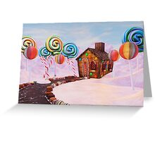 Candy World Revisited Greeting Card