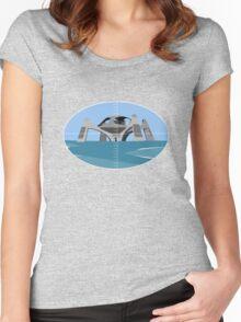 Targeting Stromberg Atlantis Women's Fitted Scoop T-Shirt