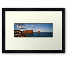 Puu Pehe (Sweetheart Rock) Framed Print