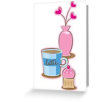A very cute Coffee Break! Greeting Card
