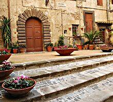 Piazza Saminiati-Nepi, Italy by Deborah Downes