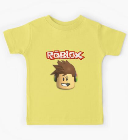 Roblox Character Head Kids Tee
