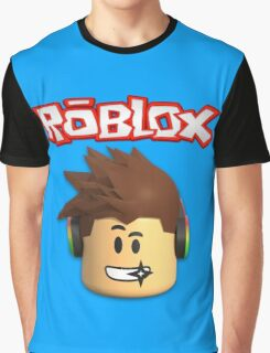 Roblox Character Head Graphic T-Shirt