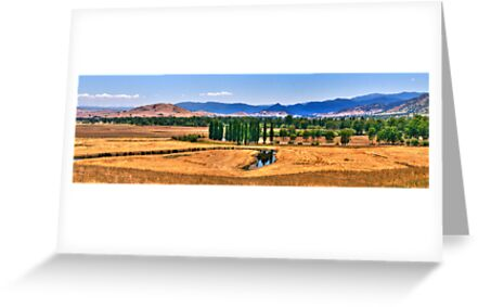 Man From Snowy River Country -  On The Road To Corryong - The HDR Experience by Philip Johnson