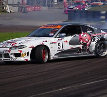 British Drift Championship - #51 Michael Marshall - Nissan Silvia S15 Cosworth by motapics