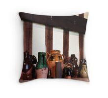 Gainsborough Old Hall-Jugs(2) Throw Pillow