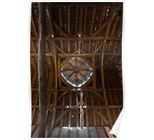 Gainsborough Old Hall- The roof Poster