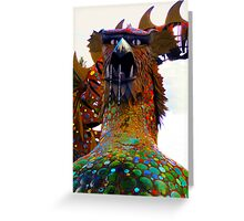 Hungry Dragon Greeting Card
