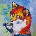 Tea Fox by Ellen Marcus