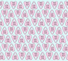 Pink planchette by LadyOfMischief