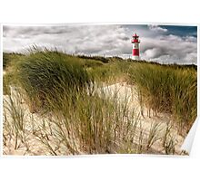 Lighthouse List East (Sylt) Poster