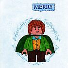 Merry-Lego Lord of the Rings by ChrisNeal