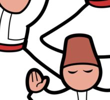 Dervish trio Sticker