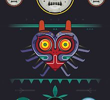 The Haunting Majora's Mask by Bens