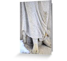 The Angel with No Shoes Greeting Card
