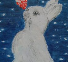christmas bunny by Gez Sullivan