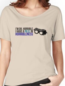 PhD in Horribleness B Women's Relaxed Fit T-Shirt