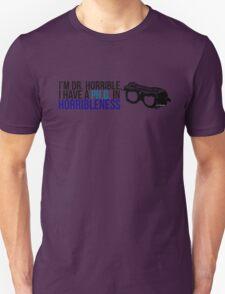 PhD in Horribleness B Unisex T-Shirt