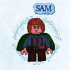 Sam-Lego Lord of the Rings by ChrisNeal