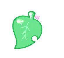 Animal Crossing Leaf Nintendo by ichigobunny