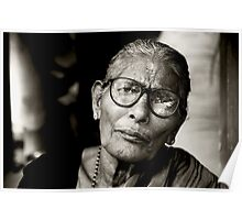 Portrait of a Woman in Madurai Poster