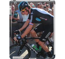 Bradley Wiggins - Tour of Britain 2012 iPad Case/Skin