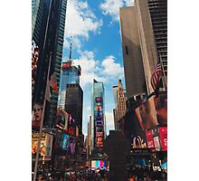 Times Square Summer 2015 Photographic Print