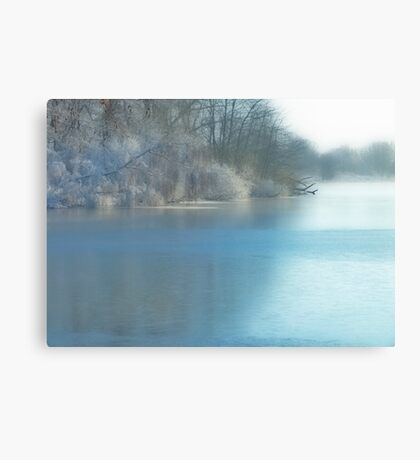 Icecold water... Canvas Print