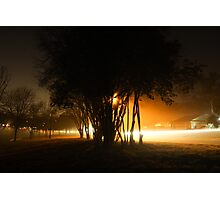 New Years Eve Fog Photographic Print