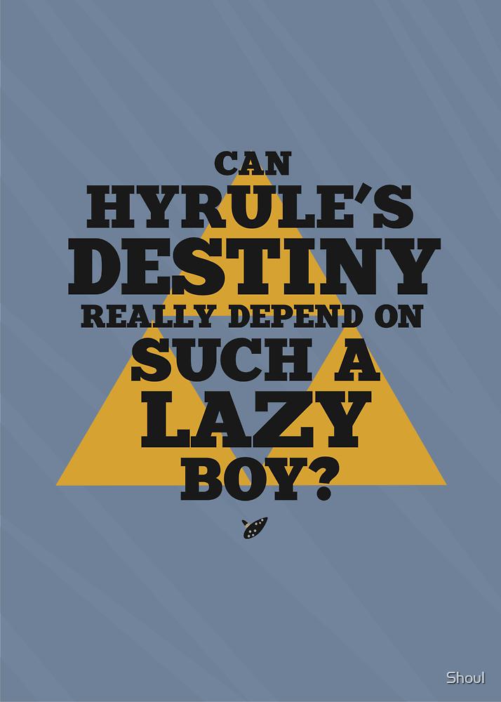 Hyrule's Destiny Alternate by Shoul
