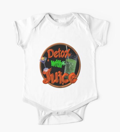 Detox with Juice by Valxart One Piece - Short Sleeve