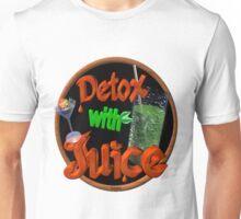 Detox with Juice by Valxart Unisex T-Shirt